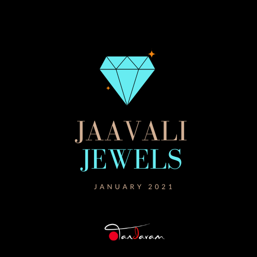 application for Jaavali Jewels for January 2021